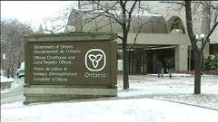 Le journaliste Michel-Denis Potvin était au palais de justice d'Ottawa lors de l'annonce de la peine de Jeremy Rees.