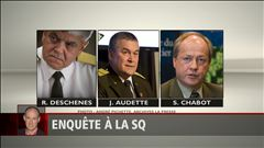 Enquête à la SQ : Alain Gravel fait le point - Richard Deschesnes sur la photo