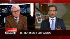 La définition d'activités terroristes est constitutionnelle