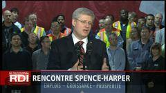 Rencontre Spence-Harper