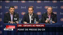 Conférence de presse du Canadien - Intégrale