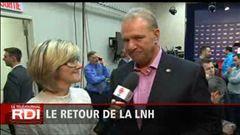 L'entrevue de Diane Sauvé avec Michel Therrien