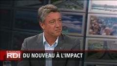L'entrevue avec le nouvel entraîneur-chef de l'Impact de Montréal, Marco Schällibaum, au Téléjournal RDI