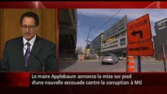 Montréal a maintenant son escouade intégrité : écouter la conférence de presse du maire et du chef du SPVM