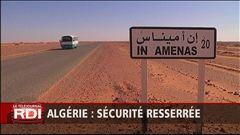 Sécurité resserrée en Algérie