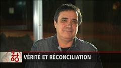 Entrevue avec l'auteur-compositeur-interprète Florent Vollant, qui a passé sept ans dans un pensionnat autochtone de Maliotenam