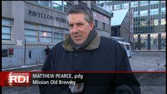 Entrevue avec Matthew Pearce, président directeur général de la Mission Old Brewery, à Montréal