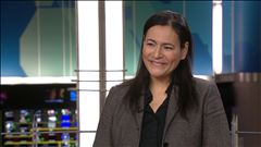 Céline Galipeau en parle avec la présidente de l'Association des femmes autochtones, Michèle Audette