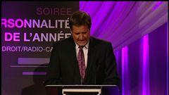 Martin Vanasse dévoile certains lauréats du gala de la Personnalité de l'année