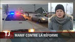 Julie-Anne Lapointe parle des manifestations contre la réforme de l'assurance-emploi