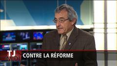 L'entrevue avec Jean Lacharité, vice-président de la CSN