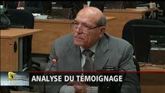 L'analyse d'André Cédilot