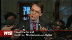 Les réactions à Québec avec Sébastien Bovet