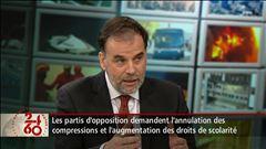 Entrevue avec le ministre de l'Enseignement supérieur, Pierre Duchesne