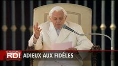Alexandra Szacka raconte les adieux de Benoît XVI aux fidèles