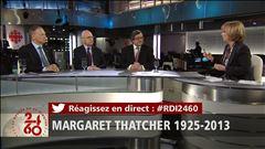 Margaret Thatcher s'éteint