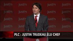 Discours de victoire de Justin Trudeau
