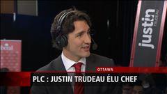 Justin Trudeau répond aux questions de Patrice Roy