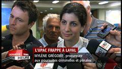 Point de presse de l'avocate de Gilles Vaillancourt et de la procureure aux poursuites criminelles et pénales