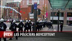 Les policiers boycottent la commission sur le printemps érable - Sébastien Bovet