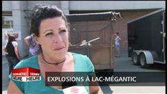 Explosions à Lac-Mégantic : Des résidents témoignent.