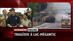 Tragédie à Lac-Mégantic : point de presse des autorités à 19 h