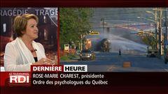 Lundi 8h - Entrevue avec la présidente de l'Ordre des psychologues du Québec, Rose-Marie Charest