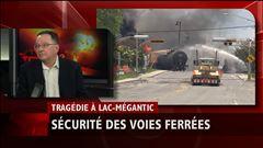 Lundi 11h - Les wagons impliqués dans la tragédie de Lac-Mégantic seraient fragiles, selon un expert