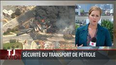 Lundi 11h30 - La sécurité du transport de pétrole