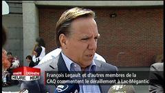 Réaction de François Legault, chef de Coalition avenir Québec