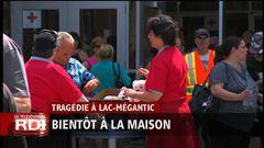 Mardi 8h - Lac-Mégantic : bientôt à la maison