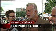 Mardi 12h - Le chef du PLQ commente la tragédie de Lac-Mégantic