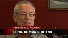 Mardi 15 h - Extrait de l'entrevue exclusive du président de la maison-mère de MMA, Rail World, accordée à Philippe Leblanc