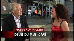 Mardi 19 h - Entrevue de Sophie l'Heureux, gérante du Musi-Café