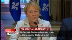 Mercredi 12h - Québec octroie une aide financière de 60 millions de dollars à Lac-Mégantic