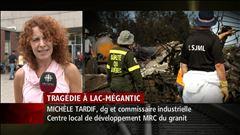Mercredi 11h - Entrevue avec la directrice générale du CLD de la MRC du granit, Michèle Tardif