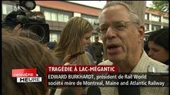Mercredi 14h - Edward Burkhardt, président de la société américaine Rail World, propriétaire de la compagnie de chemins de fer MMA