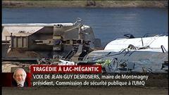 Mercredi 16 h - L'entrevue de Jean-Guy Desrosiers, maire de Montmagny et président de la commission de sécurité publique à l'UMQ
