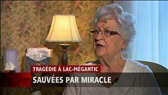Jeudi 7h - Une dame de 82 ans a échappé aux flammes dans la tragédie de Lac-Mégantic