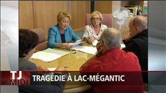 Jeudi 11h30 - Pauline Marois est de retour à Lac-Mégantic