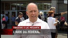 Jeudi 13h - Québec et Ottawa tentent de s'entendre sur l'aide à apporter aux citoyens de Lac-Mégantic