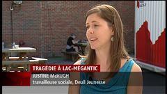 Jeudi 17 h - Entrevue de l'intervenante sociale Justine McHugh de Deuil Jeunesse, porte-parole de Deuil Jeunesse