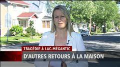 Carolyne Brochu parle du retour d'autres sinistrés à la maison