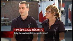 Jeudi 17 h - L'entrevue de Nicolas Charrier, directeur général et Edith Robert , coordonnatrice de Le Lac en fête.