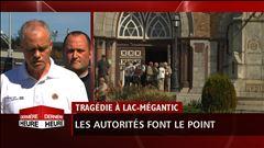 Vendredi 15 h - Le point de presse de la mairesse de Lac-Mégantic et la sécurité civile