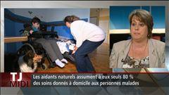 L'entrevue avec Sonia Lessard du Regroupement des organismes montérégiens d'aidants naturels