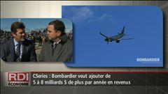 RDI Économie - Entrevue avec le PDG de Bombardier, Pierre Beaudoin