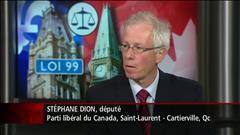 Entrevue avec le député libéral Stéphane Dion
