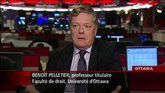 Entrevue avec Benoît Pelletier, professeur de droit à l'Université d'Ottawa