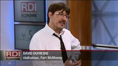 RDI Economie - Entrevue David Dufresne
